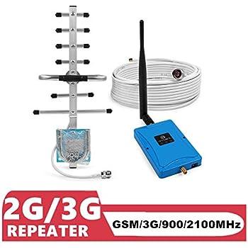 ANNTLENT Handy Signalverstärker GSM 900 MHz (Band 8) und