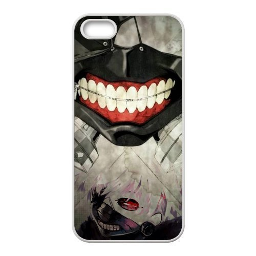Case for iPhone 5s,Cover for iPhone 5s,Case for iPhone 5,Hard Case for iPhone 5s,Cover for iPhone 5,Japanese Anime Tokyo Ghoul Design TPU Hard Case for Apple iPhone 5 5S