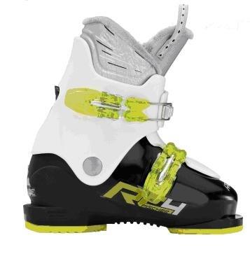 Fischer Soma Race Jr 20 black white, 22.5 Kinder Skischuh