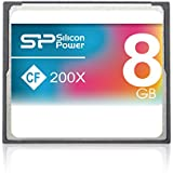 Silicon Power 8GB Compact Flash Speicherkarte 200x Speed
