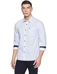 Arrow Sports Men's Printed Slim Fit Cotton Casual Shirt