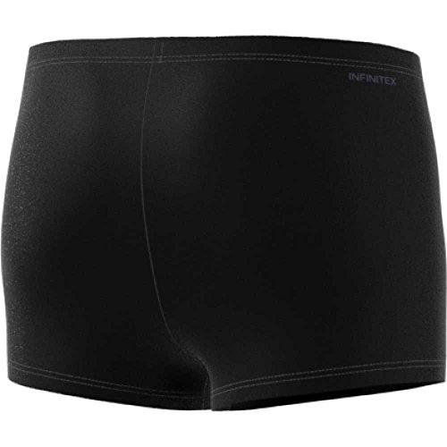 adidas Herren Infinitex Graphic Boxer Badeshorts Black/Trace Blue