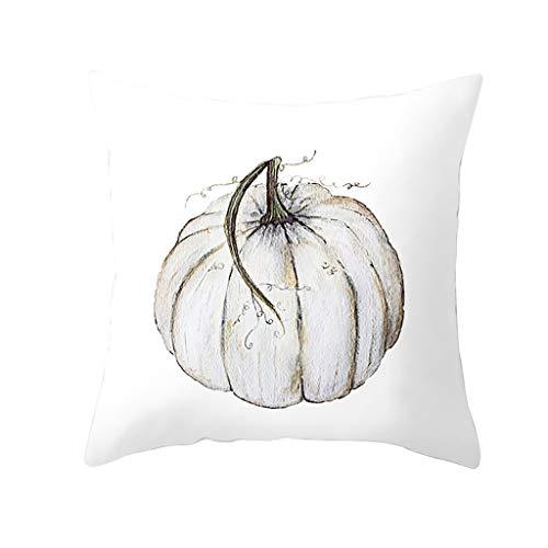 Holloween Kostüm Einfach - Myspace 2019 Neueste Dekoration für Halloween Herbst Kürbis Kissenbezug Taille Throw Kissenbezug Sofa Home Decor