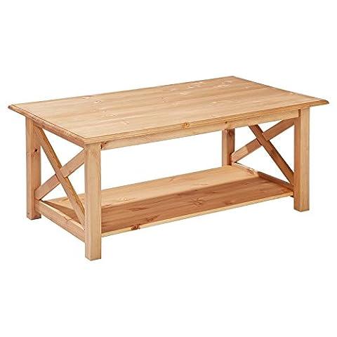 Couchtisch Kiefer Massivholz Kiefertisch Wohnzimmertisch Holztisch