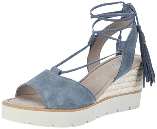 Gabor Shoes Damen Fashion Plateau, Blau (Jeans 16), 38 EU