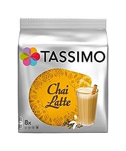 Lot de 2 boites Tassimo Chai Latte T-Discs (16 capsules en tout) chai the latte …