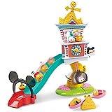 Disney – Tsum Tsum – La Tour de l'Horloge – Décor + 2 Mini Figurines Empilables 4 cm