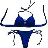 Costume Blu reale 01 donna Vandot Un Pezzo Bikini da donna Sexy Costumi da bagno bikini