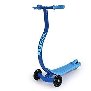 fascol kinderroller scooter mit handbremse und fu bremse. Black Bedroom Furniture Sets. Home Design Ideas