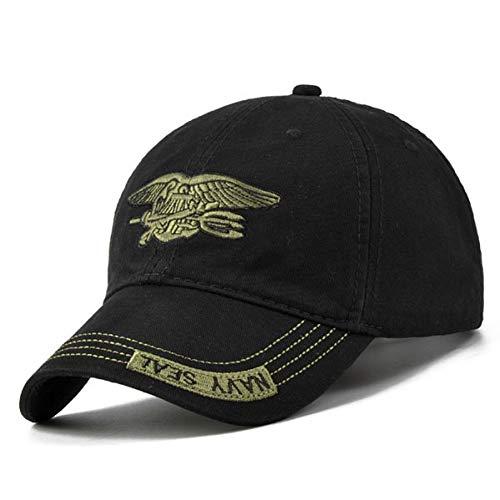 KAIMAO Baseballmütze Camo Baseball Cap Männer Camouflage Navy Seal Tactical Cap Herren Hüte Und Kappen Knochenarmee Für Erwachsene Schwarz - Seals Camo Cap Navy