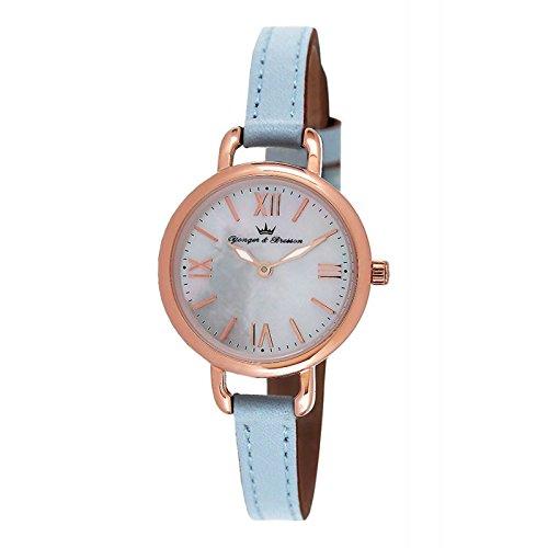 Orologio Yonger & Bresson Donna Madreperla Bianca–DCR 051/BG–Regalo Ideale
