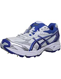 Asics Gel Strike Rate 2 M, Chaussures de Cricket Homme, Blanc
