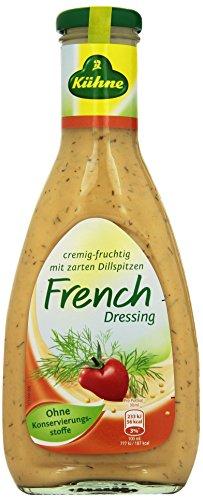 American French Dressing (Kühne Salat-Sauce French Dressing in der Flasche, 500 ml)