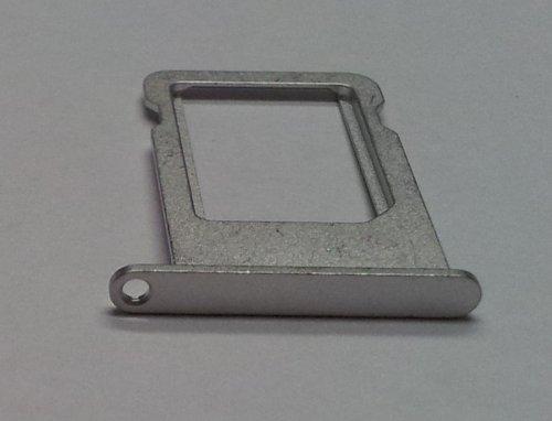COGODIS SIM-Tray zu Apple iPhone 5 - Silber - GSM-Karten-Schlitten/Halter Gsm-iphone