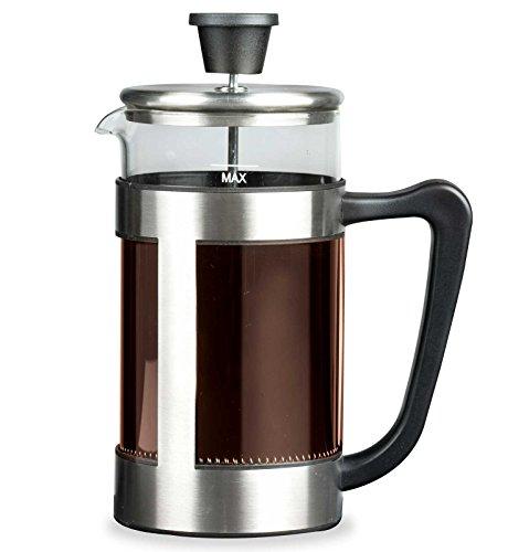 SIDCO Kaffeebereiter Kaffezubereiter Glas Kanne Kaffeekanne Kaffeefilter Pressfilter