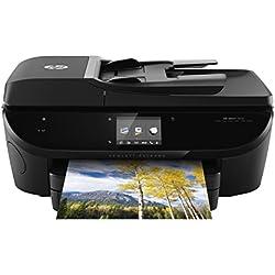 HP ENVY 7640 Imprimante Multifonction Jet d'Encre (14 ppm, 4 800 x 1 200 ppp, USB, Ethernet, Wifi, , Impression Mobile, NFC)