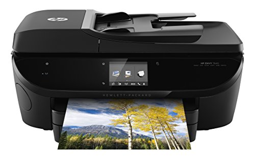 HP Envy 7640 e-All-in-One Drucker, 8,9 cm Touchscreen + Fotopapierfach (6500 Drucker Hp)