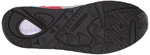 Saucony Grid 9000 Herren Sneaker Blau Rot / Grau