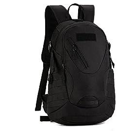 fb79f3058d Zaino Unisex 20L Tattico Militare Studente Zaino Outdoor Sport Impermeabile  Backpack per Viaggio Escursionismo Campeggio Alpinismo