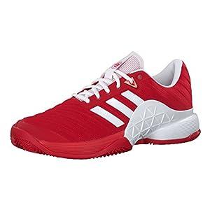 adidas Herren Barricade 2018 Clay Tennisschuhe, rot, 41 1/3 EU