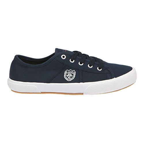 U.S. POLO Scarpe Basse Donna Chiusura Con Lacci, Stile Sneaker - mod. SOLAD4188S7-C1 Blu scuro