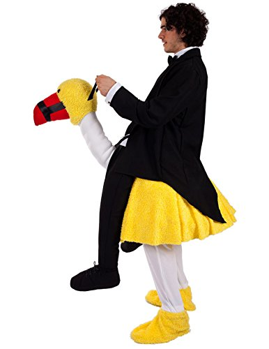 Imagen de disfraz jinete de avestruz alternativa