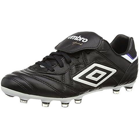 Umbro SPECIALI ETERNAL PRO HG Zapatos de Fútbol para Hombre, Negro, Talla 7.5 UK (42 EU)