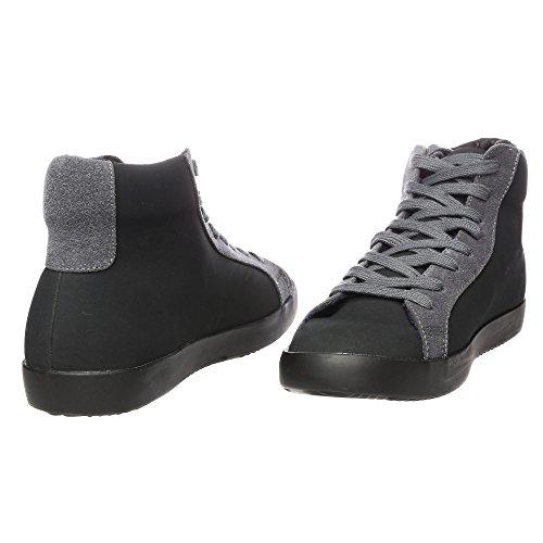 RIFLE Chaussures Homme Baskets, Plates Avec Lacets. mod. 162-M-360-456 Noir - Gris foncé