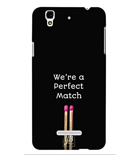YuBingo Valentine Day Gift Designer Printed Plastic Mobile Back Case Cover Panel for Yu Yureka Plus ( Perfect Match )