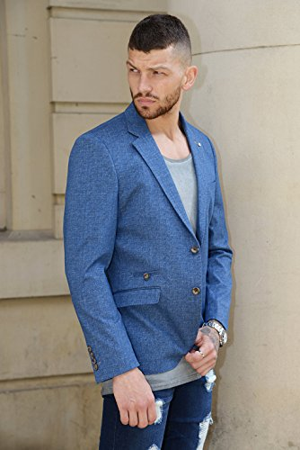 Cavani Blazer in tweed, da uomo Berta Blue
