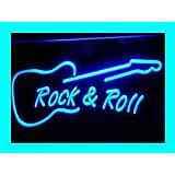 luz Foco i303de B Rock and Roll Neon Light Sign Bar Luz Luz Publicidad Neon Luz