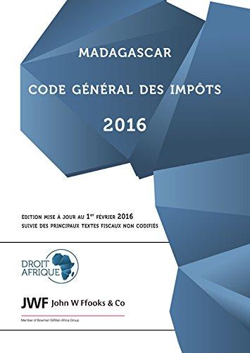Madagascar, Code General des Impots 2016