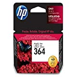 227353: HP No.364 Photosmart (Black) Photo Ink Cartridge (Yield 130 Pages) with Vivera InkBlister (CB317EE#301)