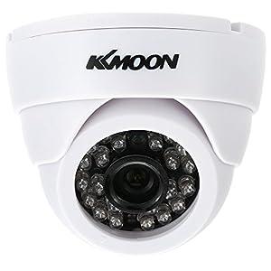 """lentes espias profesionales: KKmoon HD 1200TVL Cámara de Vigilancia en Domo 1/3"""" CMOS IR-Cut CCTV Sistema de ..."""