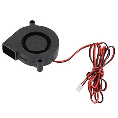 UEETEK 3D-Drucker Lüfter 24V Kühlgebläse Turbo Fan