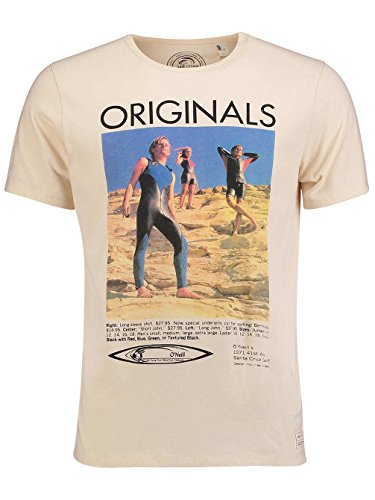 "Herren T-Shirt ""The 70´s"" creme brulee"