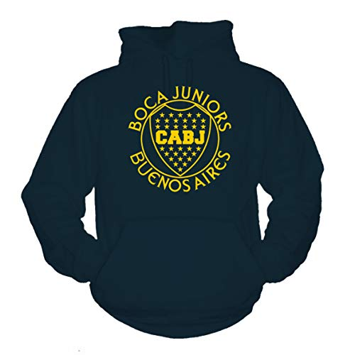 shirtmachine Boca Juniors - Buenos Aires Hoodie (XXL) -