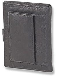 """Portefeuille """"Rimbaldi"""" Super-Compact avec un espace pour un maximum de 14 cartes de crédit en cuir naturel, de vachette souple"""
