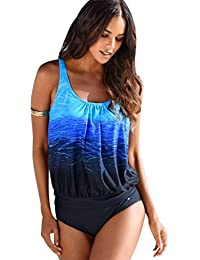 Tankini Mujer Bikini Push Up Tankinis Trikini Trajes de Baño Bikinis de Playa Deportivos Bañadores Tallas