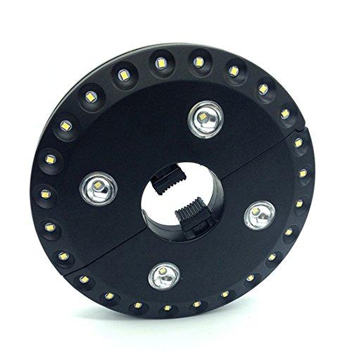 Dooppa - Lámpara LED para sombrilla de patio, 28 unidades, funciona con...