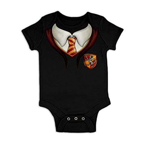 Wizards Apprentice Costume Baby Grow - Black 6-12 Months