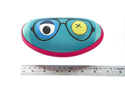 ZIPIT Beast Box, Glasses Case, Yellow light blue