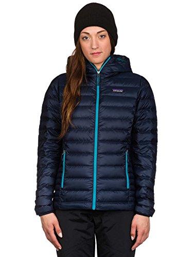 Damen Outdoor Jacke Patagonia Down Sweater Hooded Outdoorjacke