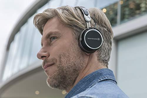 beyerdynamic Aventho wireless on-Ear-Kopfhörer mit Klang-Personalisierung in schwarz. 30 Stunden Akkulaufzeit, Bluetooth kabellos, MIY App, Mikrofon - 9