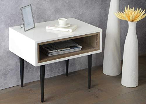 Adept Home Table Basse en Bois MDF, Collection Korb