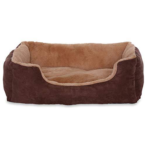 Lit chien coussin chien panier chien avec coussin taille M beige/marron