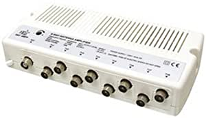 hq ant amp8 amplificateur d 39 antenne tv avec 8 sorties. Black Bedroom Furniture Sets. Home Design Ideas