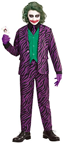 Widmann evil joker per bambini, 140 cm / 8-10 anni vd-wdm19317