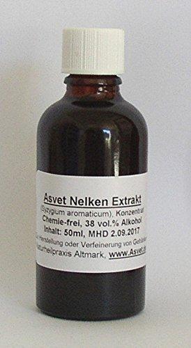 Asvet 100ml Nelken Tropfen, Tinktur, Extrakt, Konzentrat, ohne Chemie ! - Nelke Tropfen