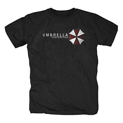Umbrella Shirt,Schwarz,S (Halloween Film T Shirts)